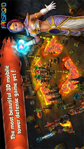 Siegecraft Defender Android بازی اندروید