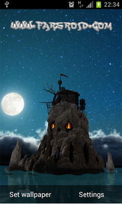 Skull Island 3D Live Wallpaper Android