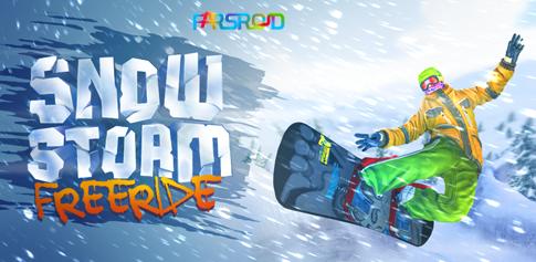 دانلود Snowstorm - بازی بی نظیر اسنوبورد اندروید + دیتا !