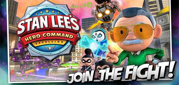 دانلود Stan Lee's Hero Command - بازی قهرمانان است لی اندروید + مود/دیتا