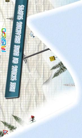 Stickman Ski Racer Android بازی اندروید