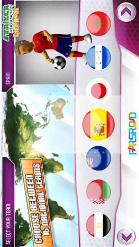 Striker Soccer London Android بازی اندروید
