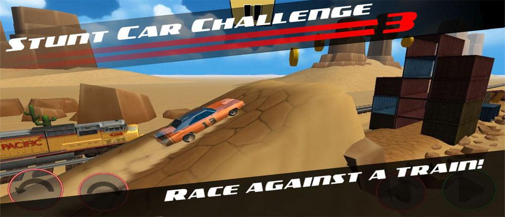 دانلود Stunt Car Challenge 3 1.03 – بازی ماشینی اندروید + مود/دیتا