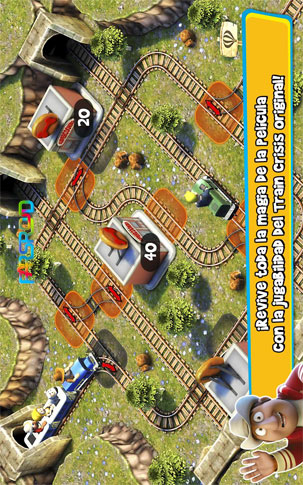 Tadeo Jones: Train Crisis Pro Android بازی اندروید