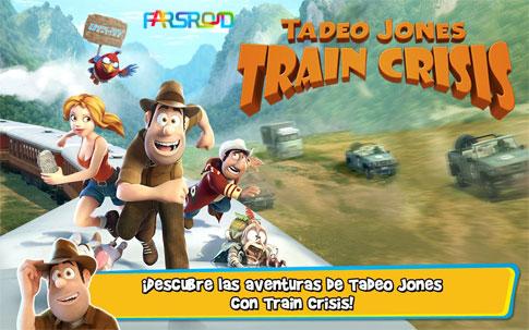 دانلود Tadeo Jones: Train Crisis Pro - بازی فکری ماجراجویی اندروید