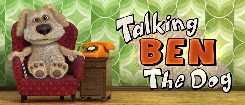 دانلود Talking Ben the Dog 2.0 - برنامه صحبت با سگ اندروید !