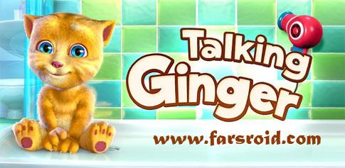 دانلود Talking Ginger - برنامه جذاب گربه خانگی اندروید
