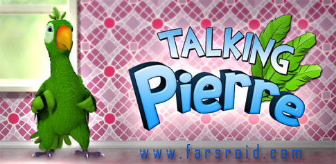دانلود Talking Pierre the Parrot - طوطی سخنگوی اندروید + دیتا