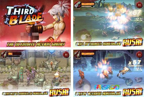 دانلود Third Blade - بازی اکشن پرطرفدار شمشیر سوم اندروید
