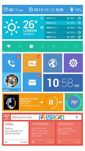 Toucher Pro Android برنامه اندروید