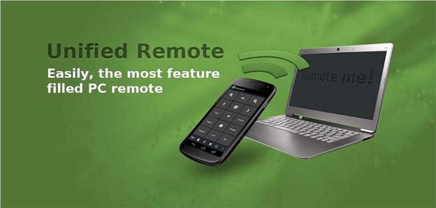 دانلود Unified Remote Full - برنامه کنترل کامپیوتر اندروید