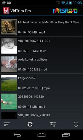 VidTrim Pro - Video Editor Android اندروید