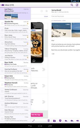 Yahoo Mail 2 دانلود Yahoo! Mail 5.4.3 – برنامه جذاب و جالب و خوب رسمی سرویس یاهو میل آندروید