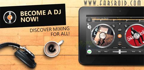 دانلود edjing PE - Turntables DJ Mix - برنامه ساخت موزیک اندروید
