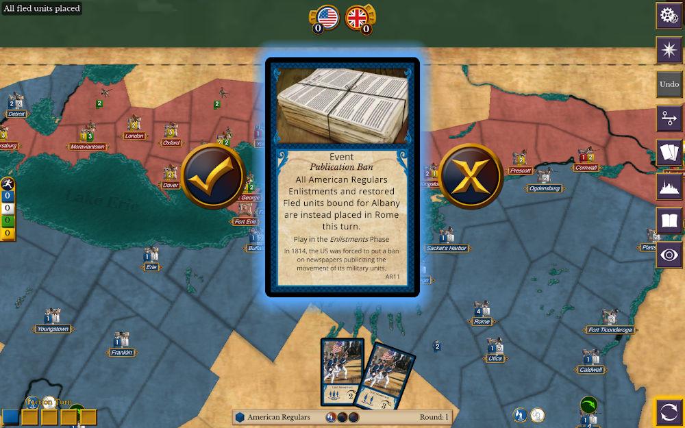 دانلود A 1812: The Invasion of Canada 1.3 - بازی استراتژیکی