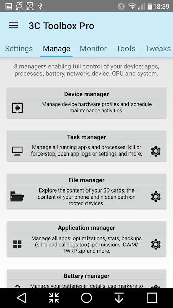دانلود 3C Toolbox Pro 2.1.2 - جامع ترین جعبه ابزار اندروید + مود