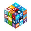 3D Cube Icons APEX/NOVA/GO/ADW Android