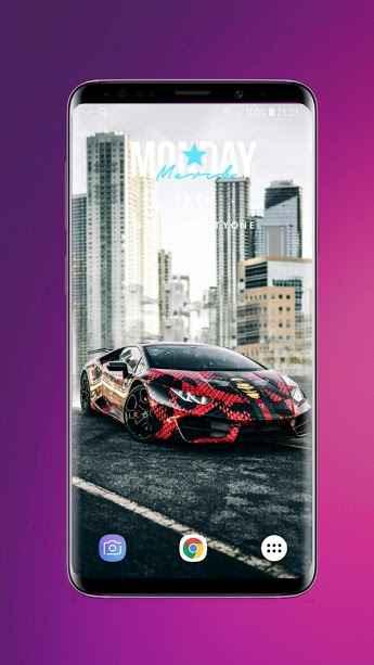 دانلود 3D Parallax Background - HD Wallpapers in 3D 1.56 B-105 - برنامه والپیپر ها سه بعدی خیره کننده اندروید!