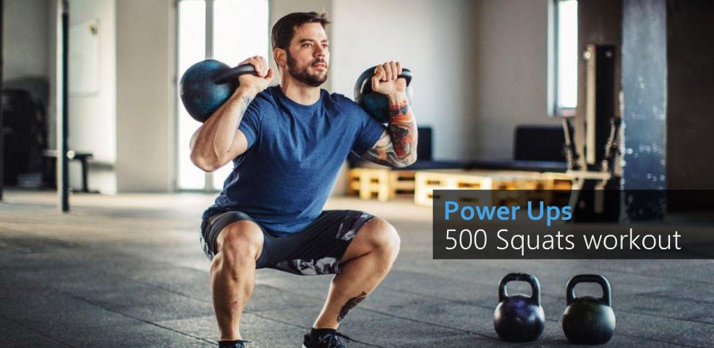A 500 Squats - Strong Leg Workout Premium