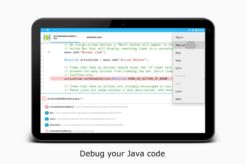 دانلود AIDE - Android IDE - Java, C++ 3.2.190514 - برنامه نویسی اندروید
