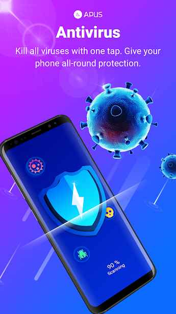 دانلود APUS Security Clean Virus, Antivirus, Booster 1.0.119 - آنتی ویروس و ابزار امنیتی هوشمند اپوس اندروید !