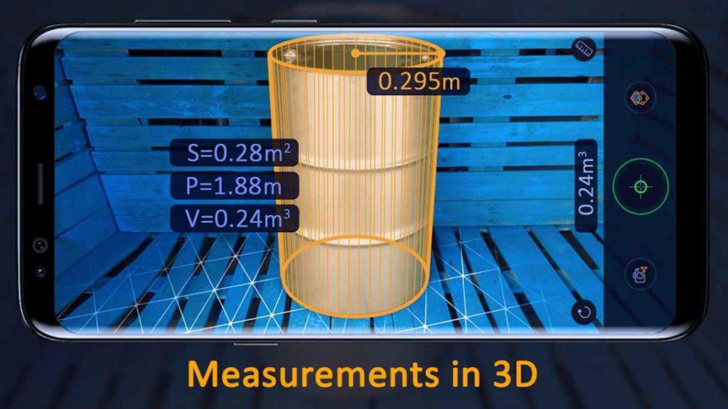 دانلود AR Ruler App – Tape Measure Pro 1.4.1 - برنامه خط کش حرفه ای و فوق العاده اندروید !
