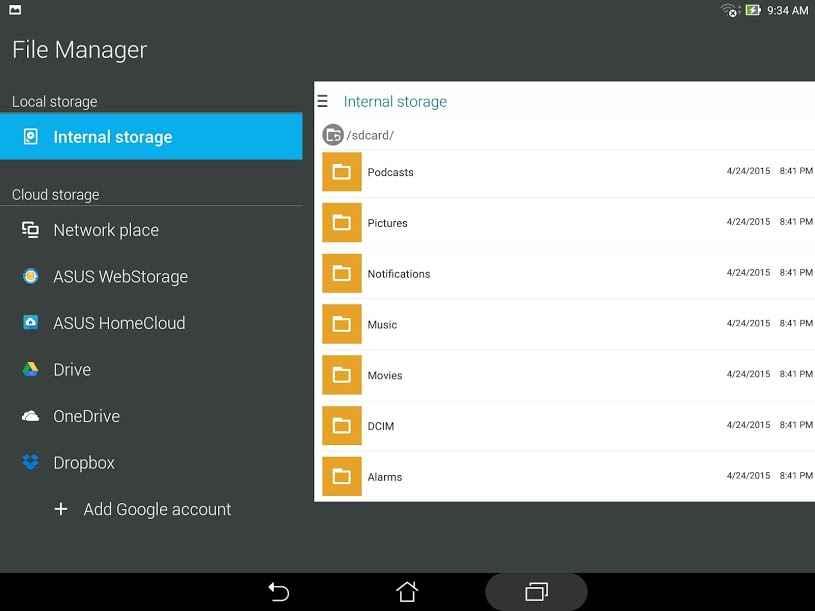 دانلود ASUS File Manager 2.3.1.13_180629 - برنامه مدیریت فایل ایسوس اندروید