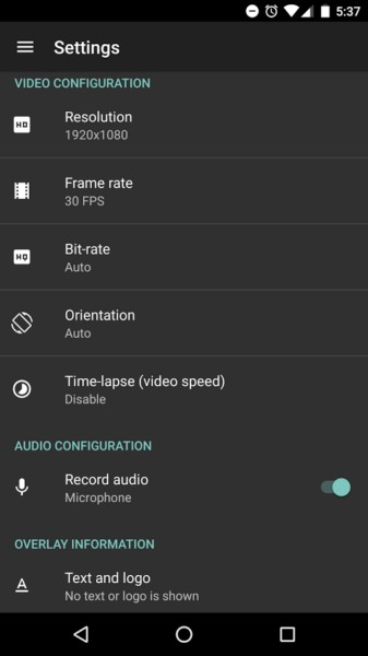 دانلود AZ Screen Recorder - No Root 5.0.5 - برنامه ضبط فیلم از صفحه نمایش اندروید + مود
