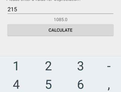 Account: Accounting Calculator