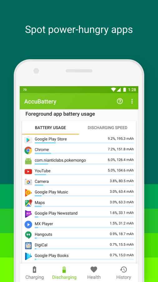 دانلود AccuBattery - Battery Health Pro 1.2.5 - برنامه محافظت از باتری اندروید