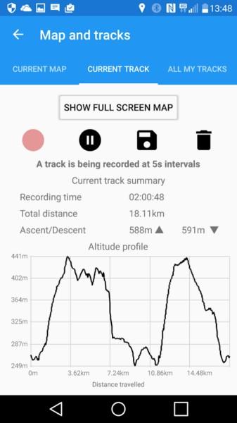 دانلود ActiMap - Outdoor maps & GPS 1.7.2.0 - نقشه و جی پی اس آنلاین اندروید