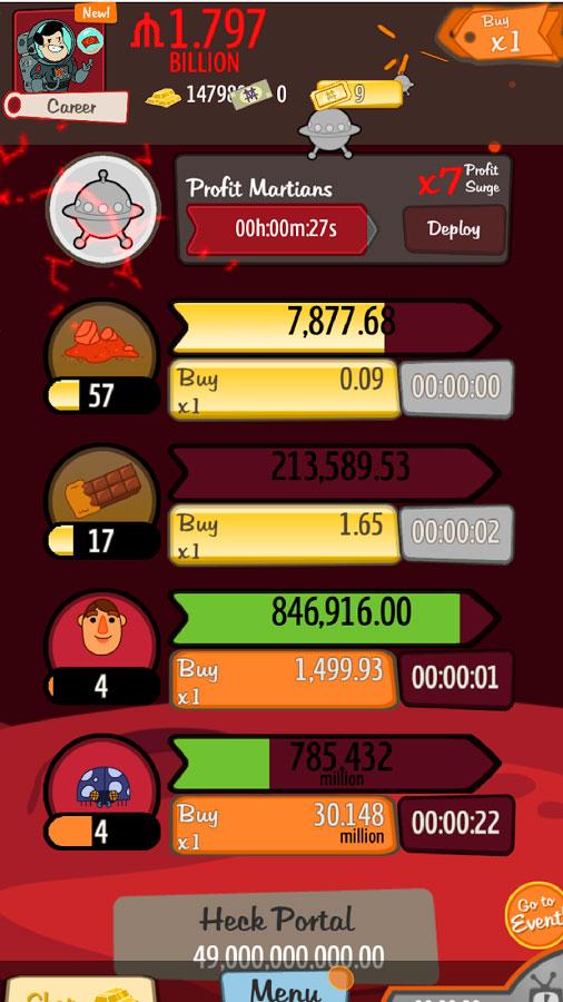 دانلود AdVenture Capitalist 7.7.0 - بازی پرطرفدار