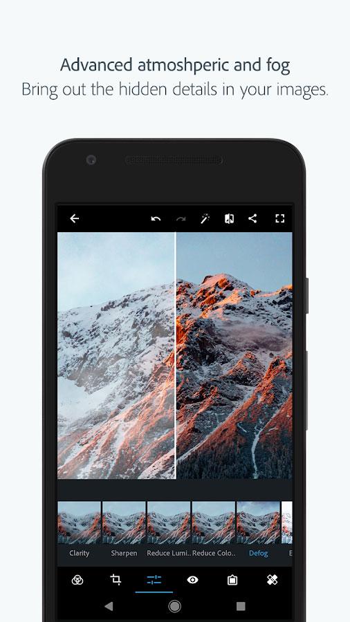 دانلود Adobe Photoshop Express Full 5.9.571 - فتوشاپ اکسپرس اندروید + مود
