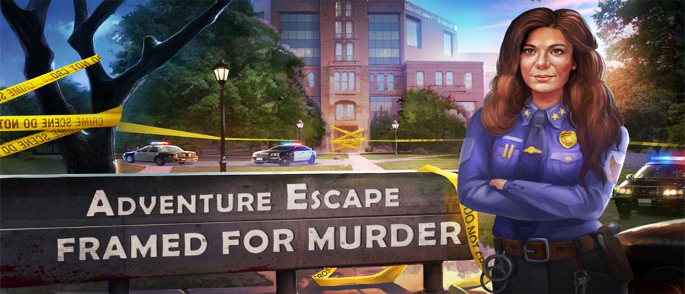"""دانلود Adventure Escape: Framed 1 - بازی """"ماجراجویی فرار: قاب"""" اندروید + مود"""