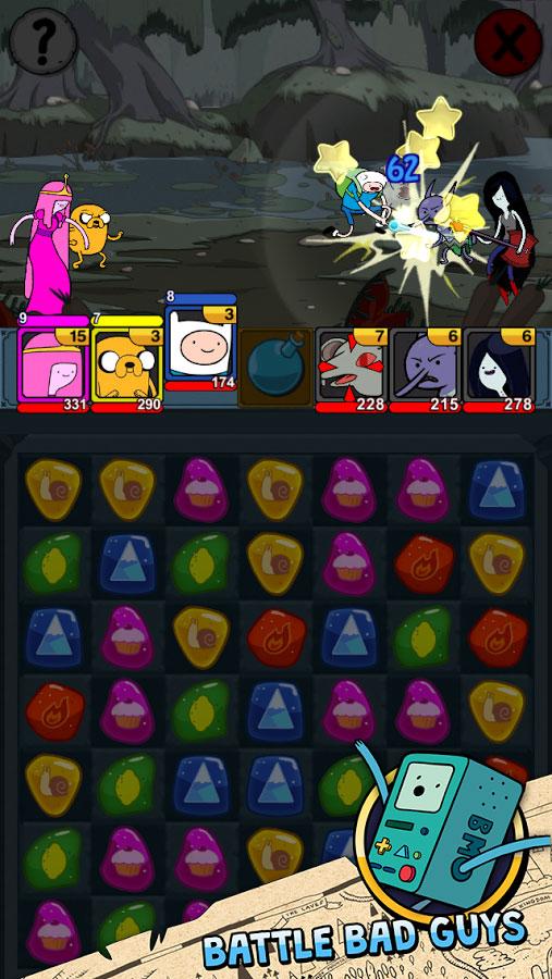 دانلود Adventure Time Puzzle Quest 2.00 - بازی پازل