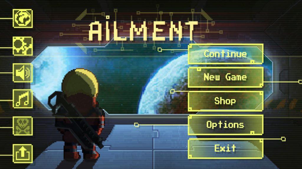 دانلود Ailment 2.5.8 - بازی اکشن هیجان انگیز