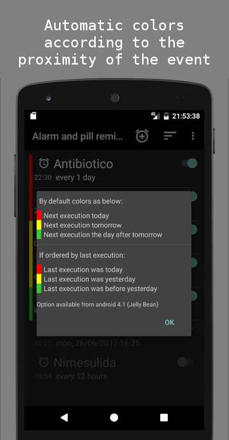 دانلود Alarm and pill reminder 1.4.2 - آلارم و یادآور مصرف دارو اندروید !