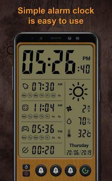 دانلود Alarm clock Pro 9.0.5 - تبدیل گوشی اندروید به ساعت زنگ دار !