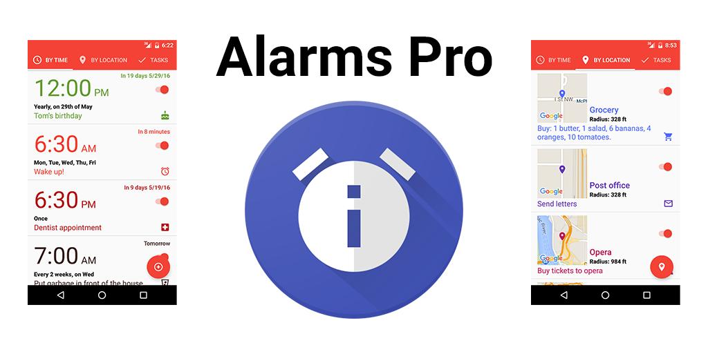 Alarms Pro
