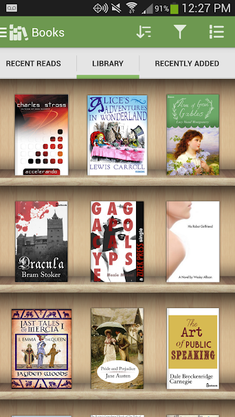 دانلود Aldiko Book Reader Premium 3.1.3 - کتاب خوان کم نظیر اندروید!