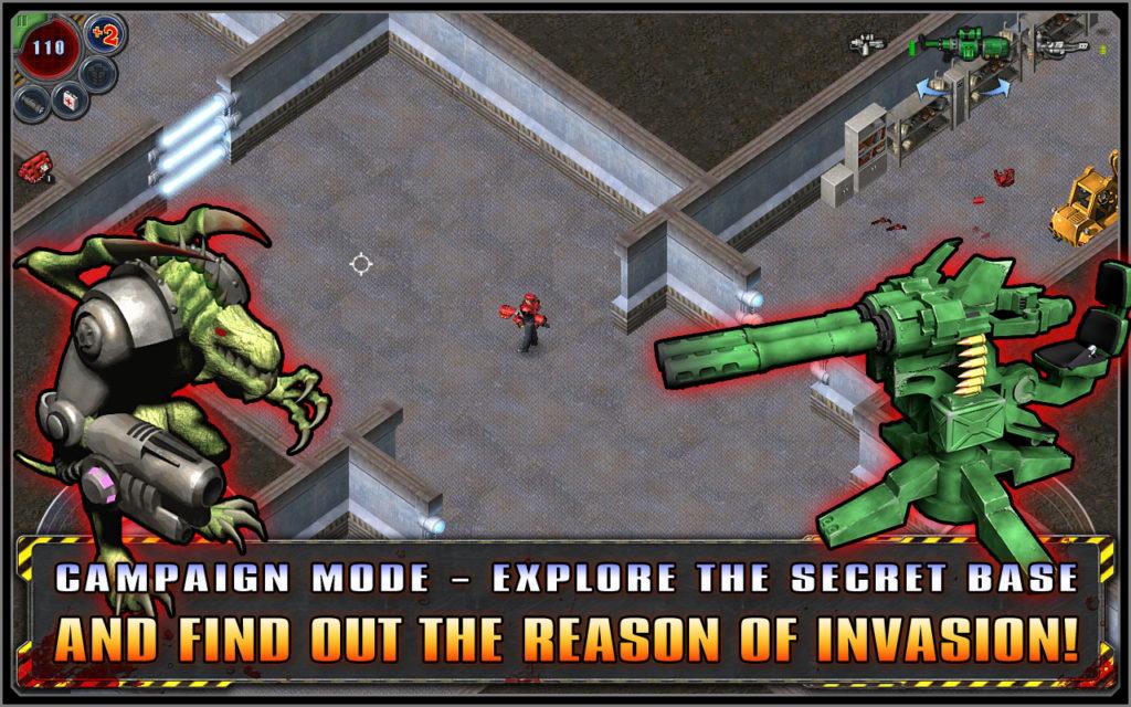 دانلود Alien Shooter 1.1.6 - بازی اکشن