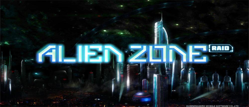 """دانلود Alien Zone Raid - بازی اکشن """"یورش به بیگانگان"""" اندروید + 4 مود"""