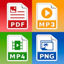 All Files Converter -PDF, DOC, JPG, GIF, MP3, AVI