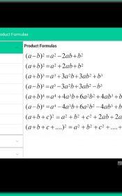 All Math formula PRO Android