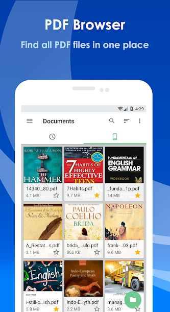 دانلود All PDF Pro - PDF Reader, PDF Converter and Tools 2.2.1 - مجموعه ابزار ویرایش و اجرای پی دی اف اندروید !