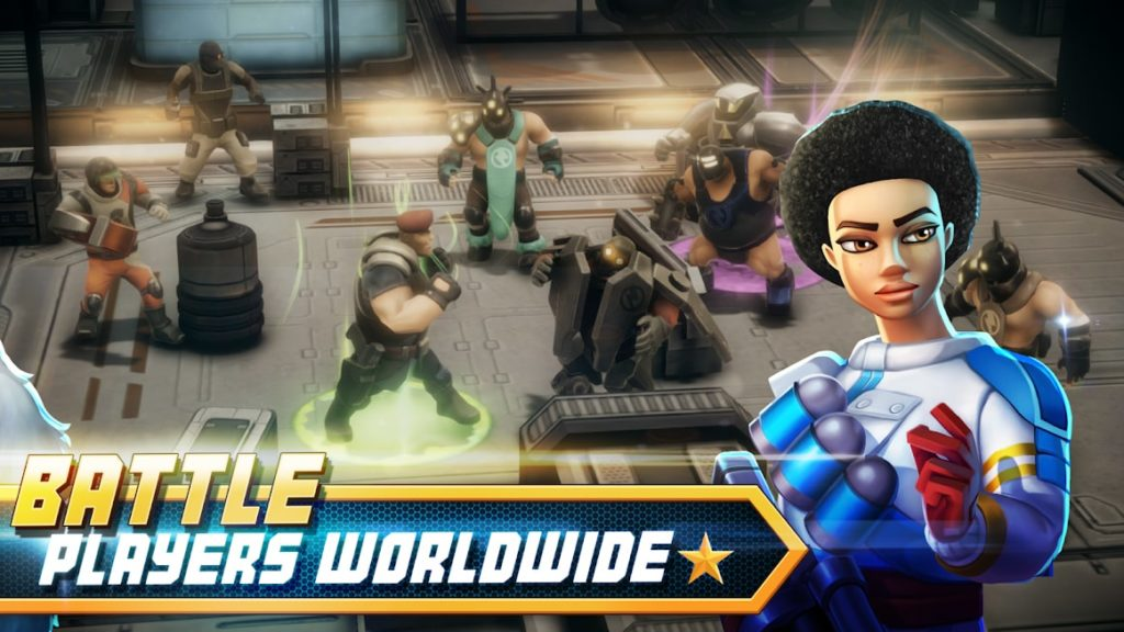 دانلود Alpha Squad 5: RPG & PvP Online Battle Arena 2.6.2 - بازی نقش آفرینی