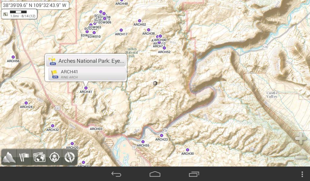دانلود AlpineQuest GPS Hiking 2.2.0b - برنامه مسیر یاب عالی اندروید