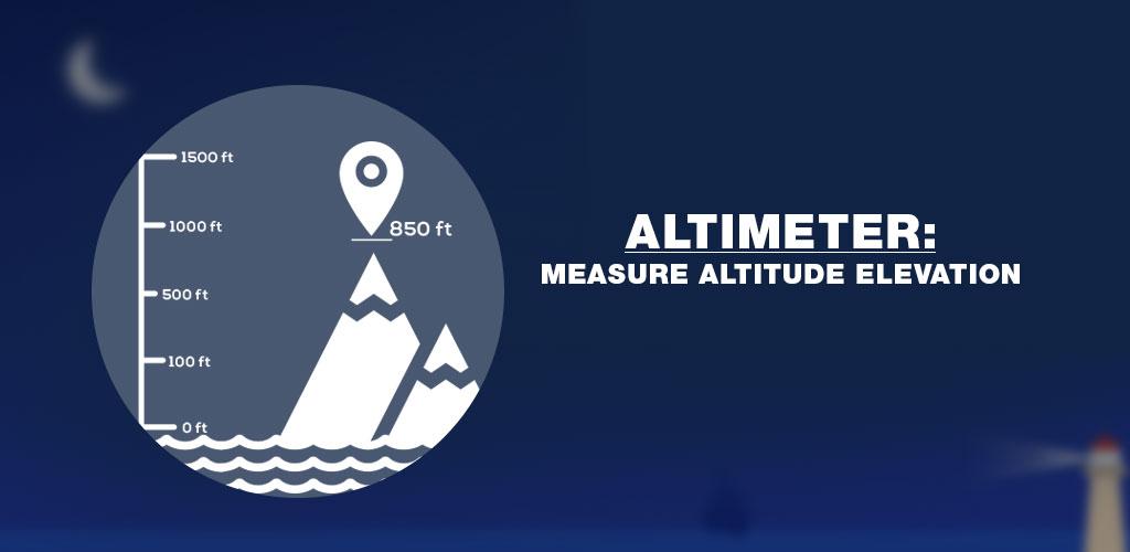 Altimeter Measure Altitude & Elevation PRO