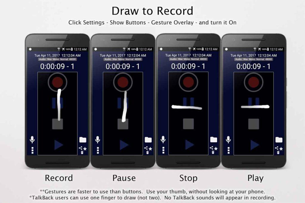 دانلود Amazing MP3 Recorder Full 0.10.61 - ضبط صوت چند کاره اندروید !