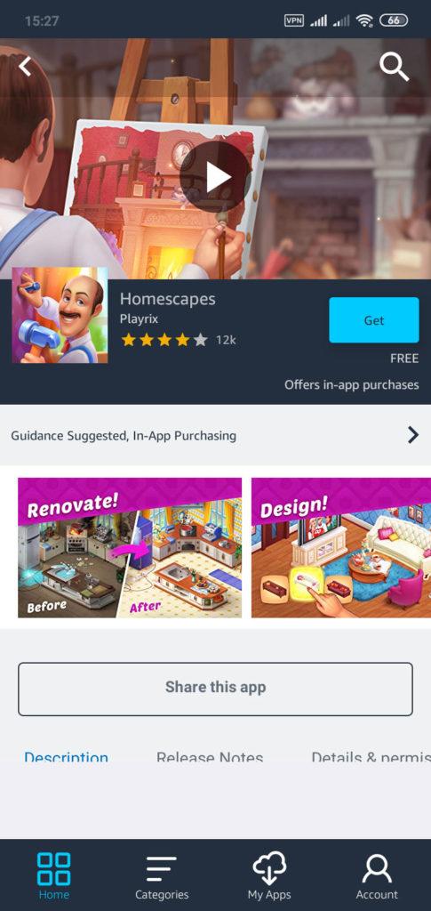Amazon AppStore 31.50.1.0.200983.0 - اپلیکیشن مارکت امازون اندروید !